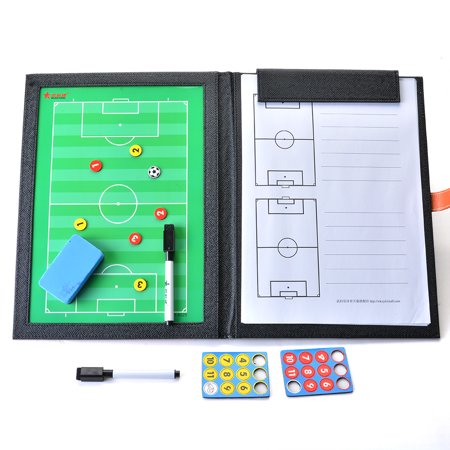 AGPTEK Sport Soccer/Football Magnetic Coach Tactical Plate Tactics (Coaching Board)
