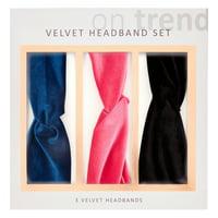 Velvet Headband Gift Set