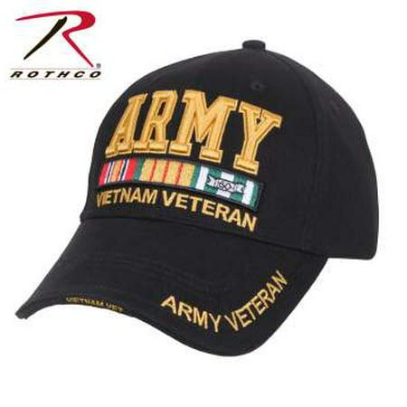 Rothco Deluxe Low Pro Cap-army Vietnam Vet - - Vietnam Vet Hat Patch