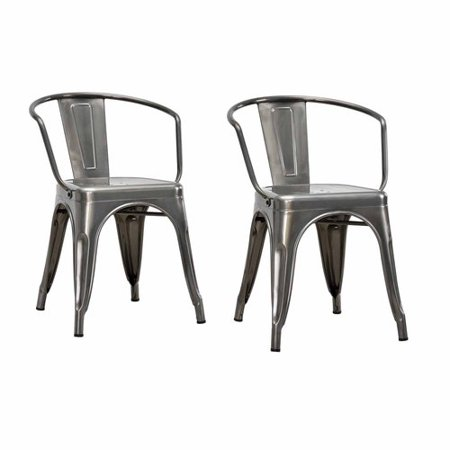 Dorel Home Products Elise Metal Dining Chair Set Of 2