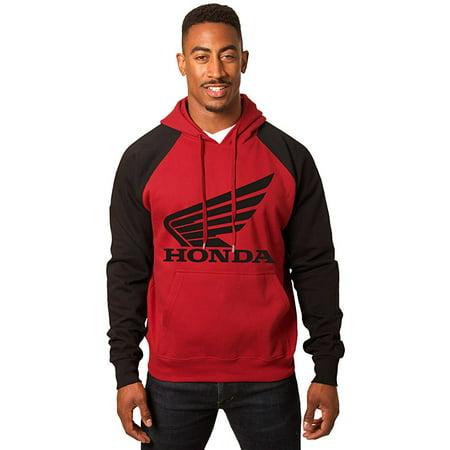 Logo Mens Hoodie Sweatshirt - Mens Honda Wing Logo Hoodie