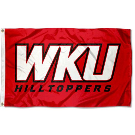 Western Kentucky University Hilltoppers WKU Logo Flag ()