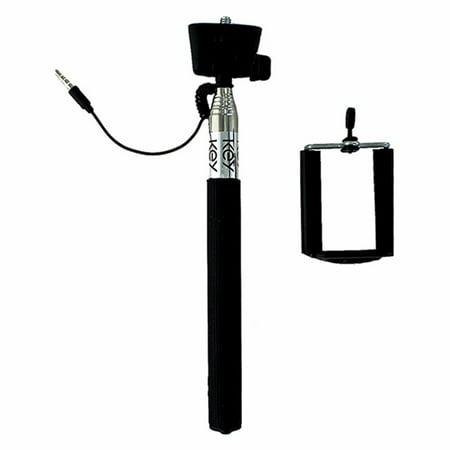 key 3ft selfie stick w remote shutter. Black Bedroom Furniture Sets. Home Design Ideas