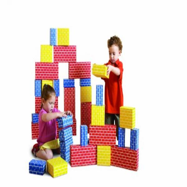 Edushape Corrugated Blocks, 52 toys by