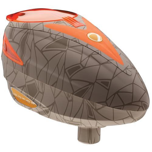 Dye Rotor Paintball Loader Hopper - UL Dust Orange