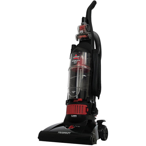 Bissell PowerForce Turbo Helix Bagless Upright Vacuum, Black/Red, 68C7