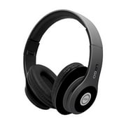iJoy Matte Finish Premium Rechargeable Wireless Over Ear Bluetooth Headphones With Mic