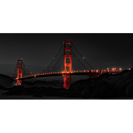 Frame Store San Francisco - Framed Art for Your Wall Golden Gate Bridge San Francisco Golden Gate 10x13 Frame