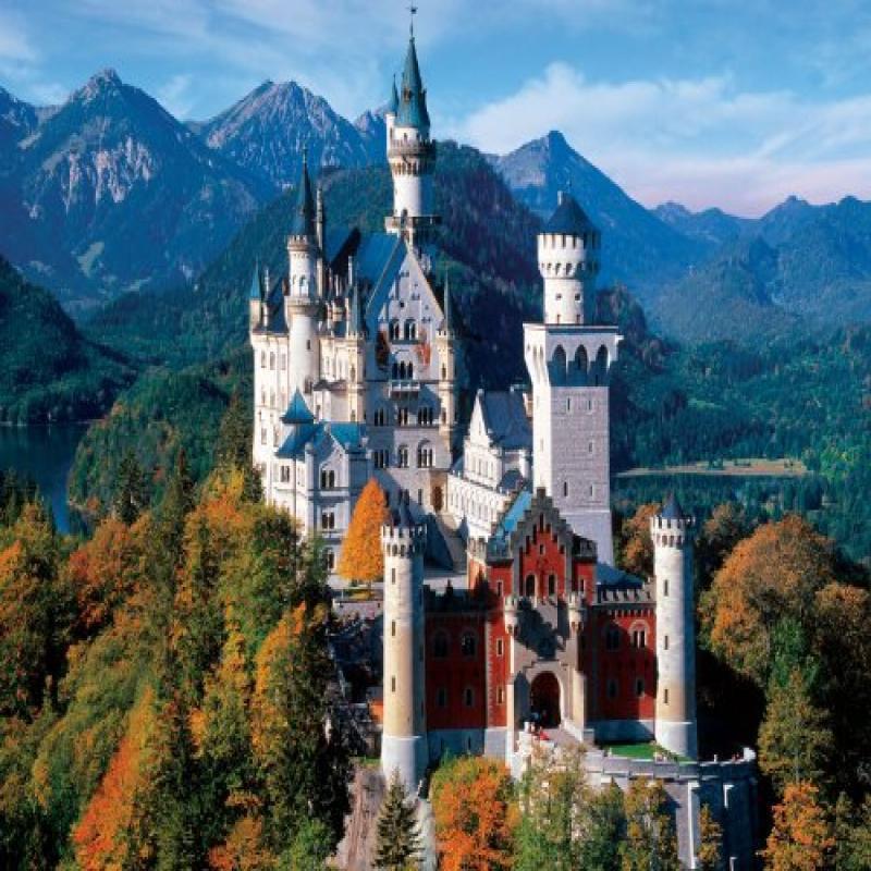 Buffalo Games 4000pc, Neuschwanstein Castle - 4000pc Jigs...