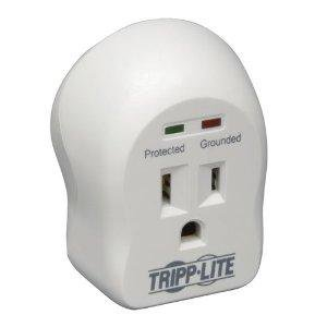 Tripp Lite Tripp Lite Surge Protector Wallmount Direct Plug In 120v 1 Outlet 600 Joule