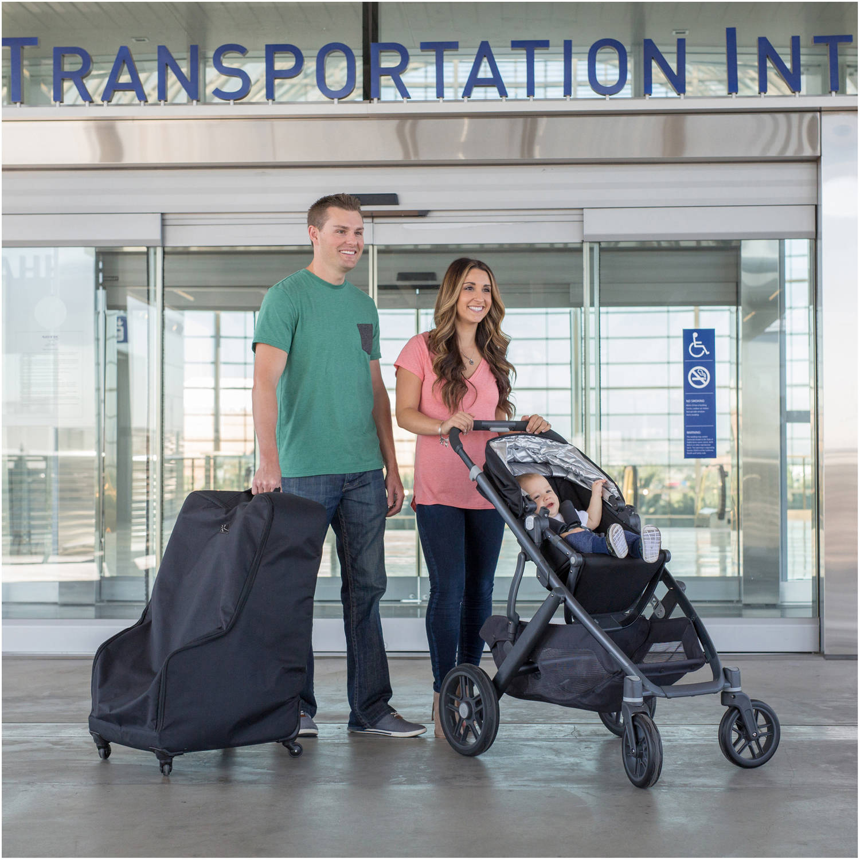 J.L. Childress Spinner Wheelie Deluxe Car Seat Travel Bag