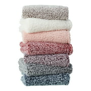 "Mainstays Extra Plush Lightweight Sherpa Throw Blanket, 50"" X 60"", Gray"