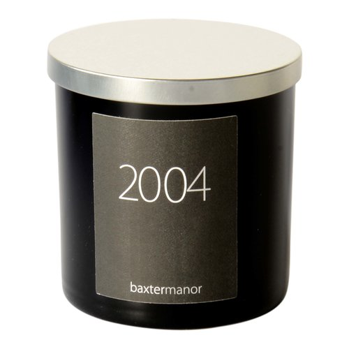 Baxter Manor #OurHistoryCollection 2004 Scented Designer Candle