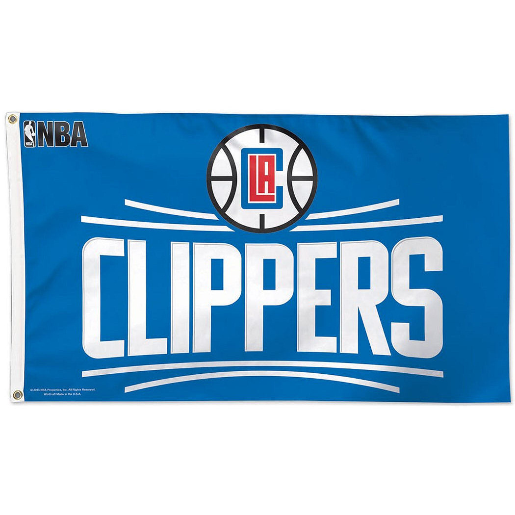 Los Angeles Clippers Official NBA 3' x 5' Deluxe Banner Flag by Wincraft