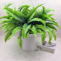 Artificial Fern Grass Plant Fake Persian Leaves Flower Wedding Home Office Decorations;Artificial Fern Grass Plant Fake Persian Leaves Home Office Decor