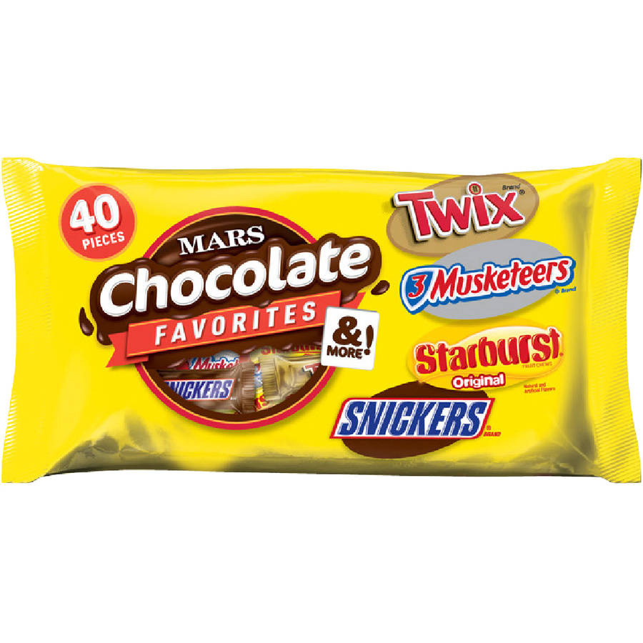 Mars Chocolate Favorites & More Candy Halloween Variety Pack, 40 count, 17.9 oz