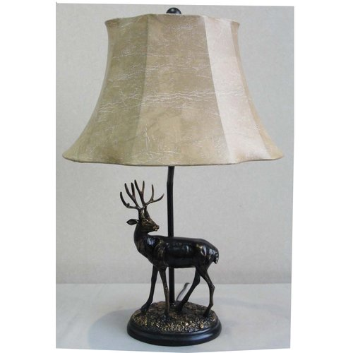 Santa's Workshop Deer 24'' Table Lamp