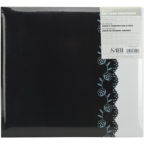 "MBI Black and White Postbound Album, 12"" x 12"""