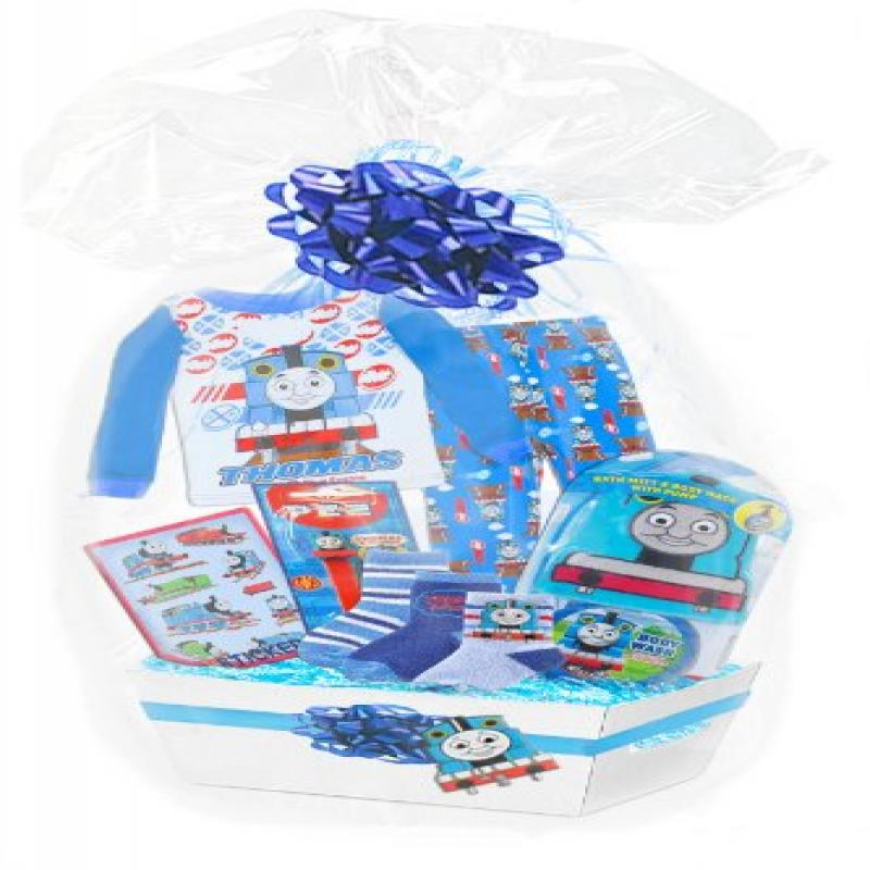 "Baby Boutique Boy's ""Thomas The Train Ultimate 45 Piece Gift Basket,"" Featuring Thomas and Friends... by Baby Boutique"