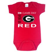 Georgia Bulldogs On Game Day Baby Onesie