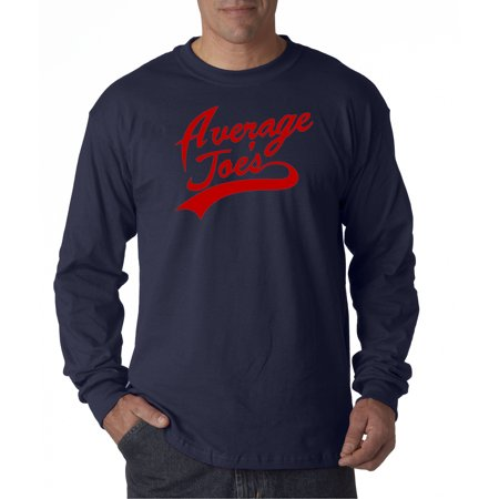 811 - Unisex Long-Sleeve T-Shirt Average Joe's Dodgeball True Underdog Costume Small - Average Joes Outfit