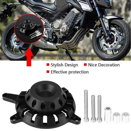 Garosa Couvercle de protection pour moteur droit en alliage d'aluminium moto pour Honda CB650F 2014-2018, couvercle de protection pour protecteur pour Honda CB650F, couvercle de protection du moteur - image 7 de 8