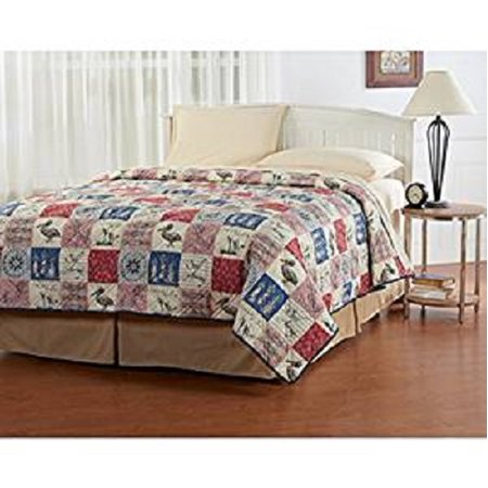 Ashley Cooper Nautical Quilt in Twin Size