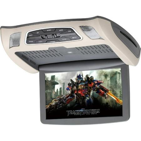 SAVV LOH-U1010DVD 10″ Overhead with DVD, Black/Beige/Gray