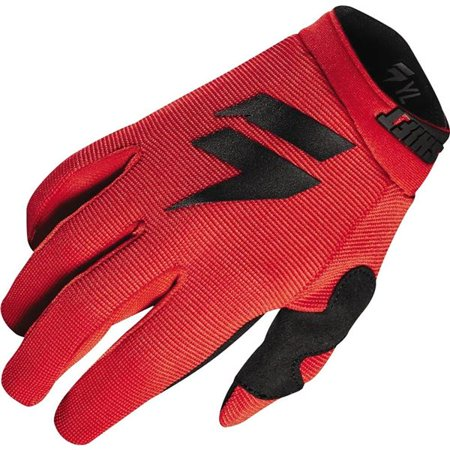 Shift Racing Wht Label Air Youth Motocross Motorcycle Glove - Red/Blk, All Sizes