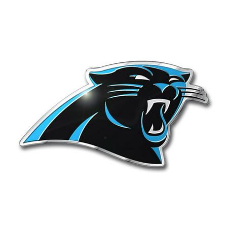 Carolina Panthers Aluminum Auto Emblem Decal Sticker