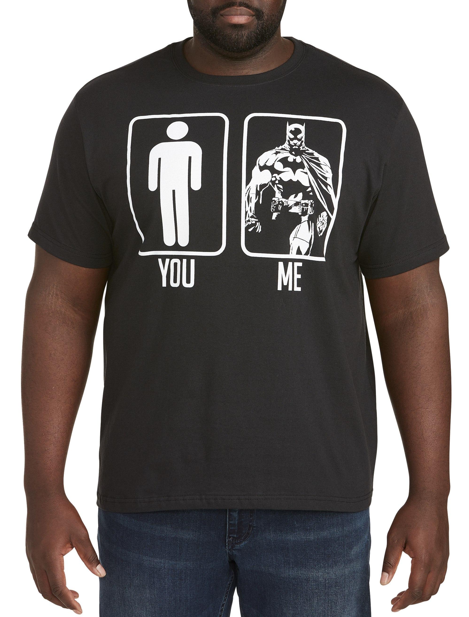 The Bat Big and Tall Shirts Calligram Shirts Men/'s Big and Tall Graphic T-Shirt Men/'s Shirts