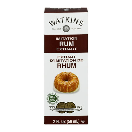 (3 Pack) Watkins Imitation Rum Extract, 2.0 fl oz