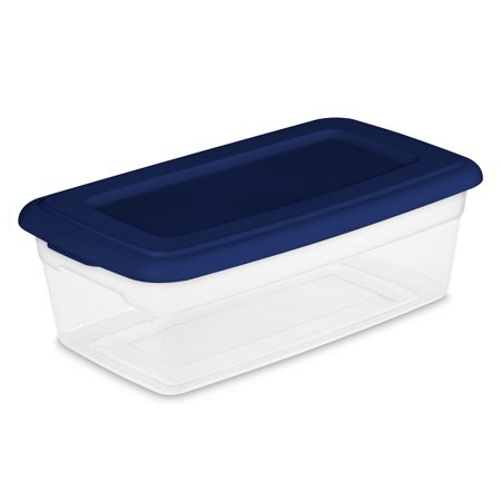Sterilite 6 Qt./5.7 L Storage Box, Ultramarine