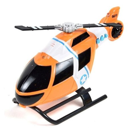 Action Helicopter - MAXX ACTION HELICOPTER RESCUE VEHICLE 2 ASST'D COLORS