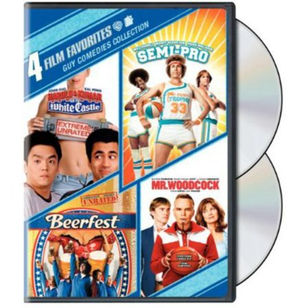 4 Film Favorites: Guy Comedies - Harold & Kumar Go To White Castle (Unrated) / Beerfest (Unrated) / Semi-Pro / Mr. Woodcock (Widescreen)