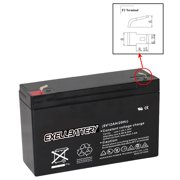 NEW 6V 12Ah SLA F2 Battery Rechargeable AGM replaces UB6120, D5778 USA SHIP