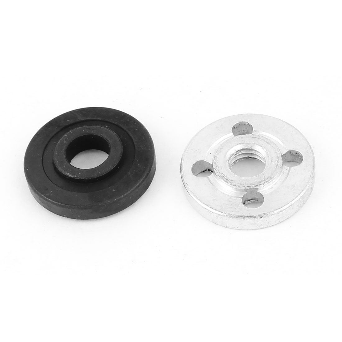2 Pcs Replacement Metal Electric Part Inner Outer Flange for Angle Grinder