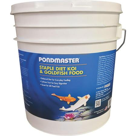 Pondmaster staple diet pond fish food for Walmart fish food