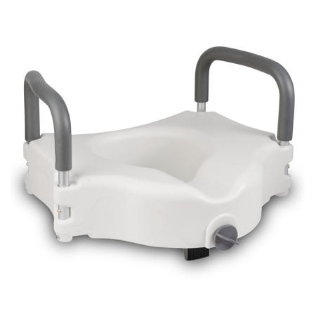 Pivit Raised Toilet Seat Portable Elevated Riser With