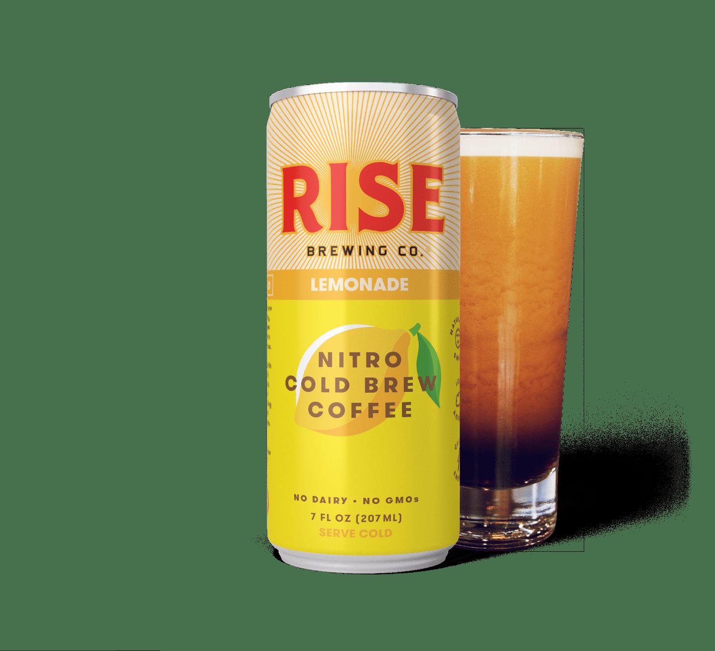 (Pack of 12) Rise Lemonade Nitro Cold Brew Coffee