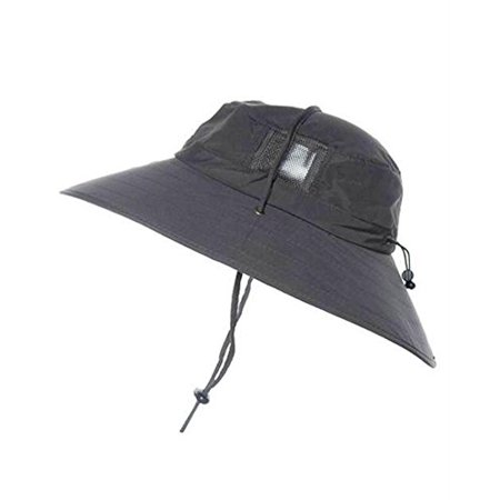 Sun Protection Zone Unisex Lightweight Adjustable Outdoor Booney Hat (100  SPF 5f41dc920d4e