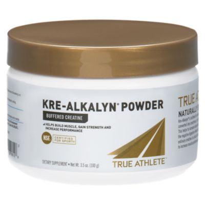 True Athlete Kre Alkalyn  Helps Build Muscle, Gain Strength  Increase Performance, Buffered Creatine  NSF Certified For Sport (3.5 Ounces Powder) (Kre Alkalyn Creatine Powder)