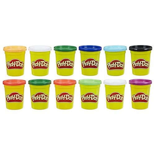 Play-Doh 12-Pack Case of Winter Colors Set (Number of Pieces per Case: 7)