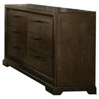ACME Selma 6 Self-Close Drawers Dresser in Tobacco