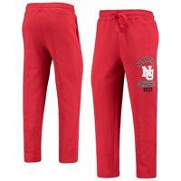 Nebraska Cornhuskers Starter Option Run Fleece Pants - Scarlet
