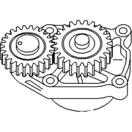 J930336 J926202 3930336 New Oil Pump Made for Case-IH