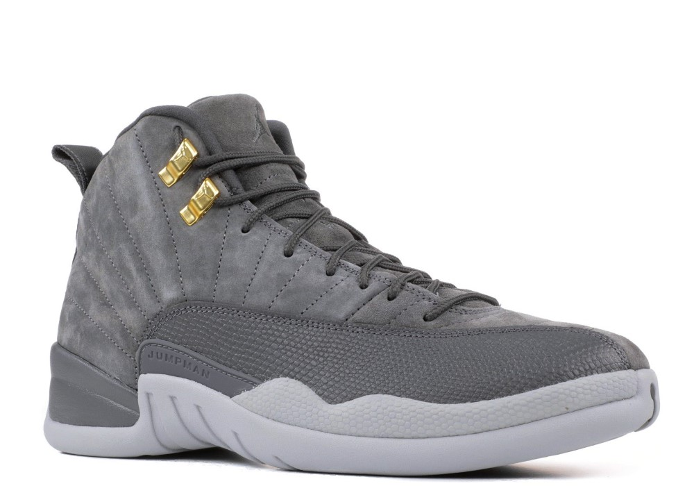 5de23e9601d0 Air Jordan - Men - Air Jordan 12 Retro  Dark Grey  - 130690-005 - Size 10