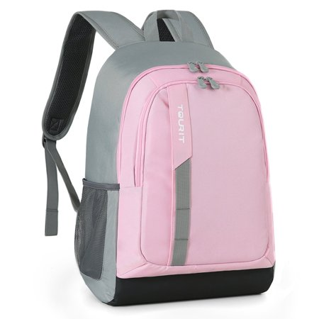 Tourit Cooler Backpack Lightweight Lunch Backpack Cooler 28 Cans Insulated Cooler Backpack For Picnic Hiking Camping Beach Park Day Trips Pink