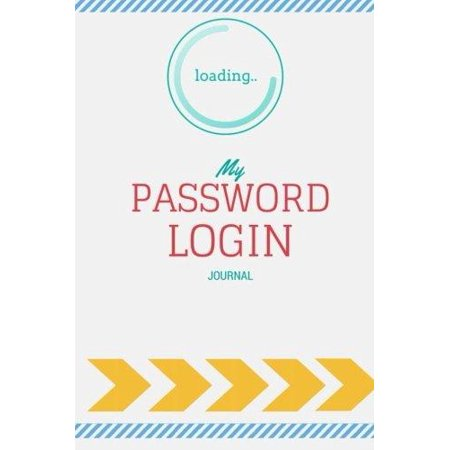 Password Login Journal  Internet Address And Password Logbook