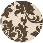 Martha Stewart  by  Barcelona Molasses Wool Rug (8'x 8' Round)
